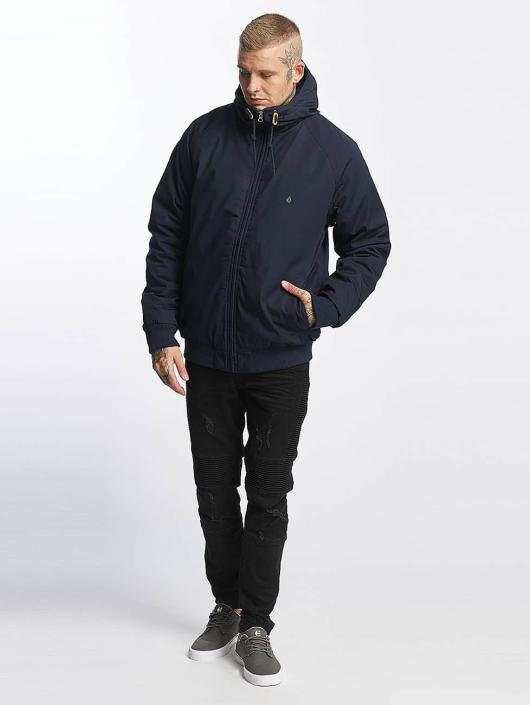 Homme Manteau Bleu 377774 Hiver Hernan Volcom ARjLq435