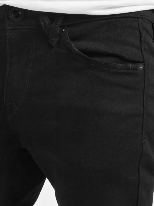 Volcom Skinny Jeans 2x4 Denim schwarz
