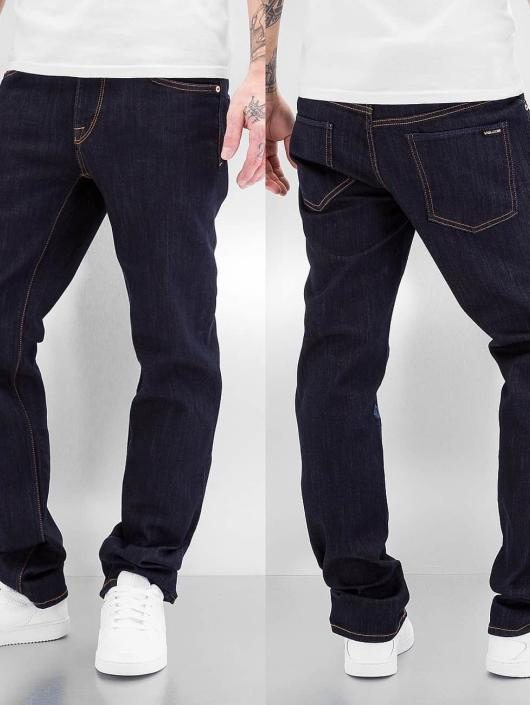 Volcom Straight Fit Jeans Solver blau
