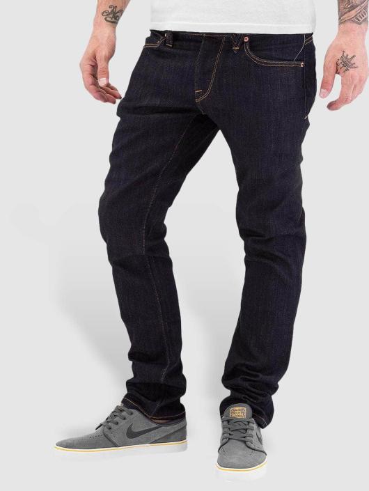 Volcom Straight fit jeans Vorta blauw