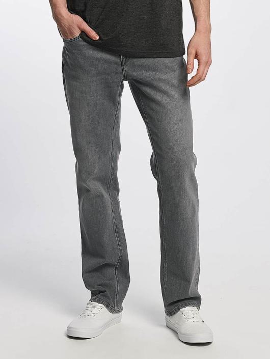 Volcom Straight Fit Jeans Solver Denim grå