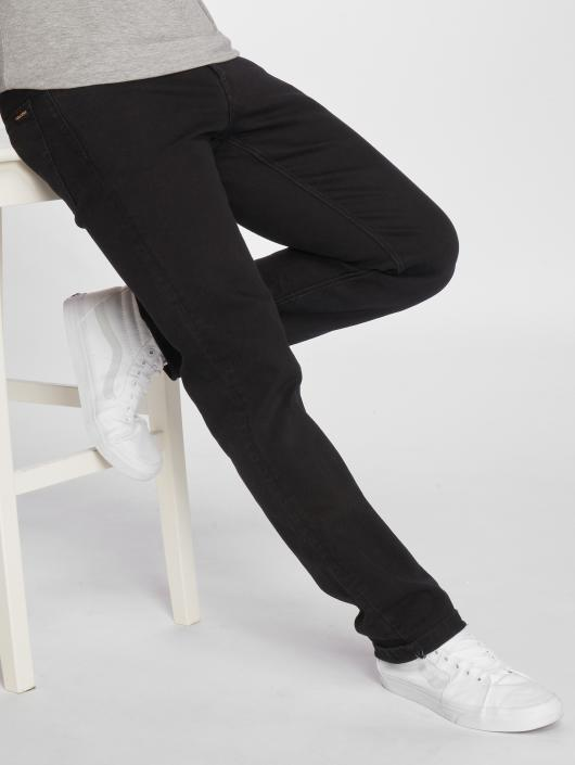 Volcom Straight Fit Jeans Solver Denim svart