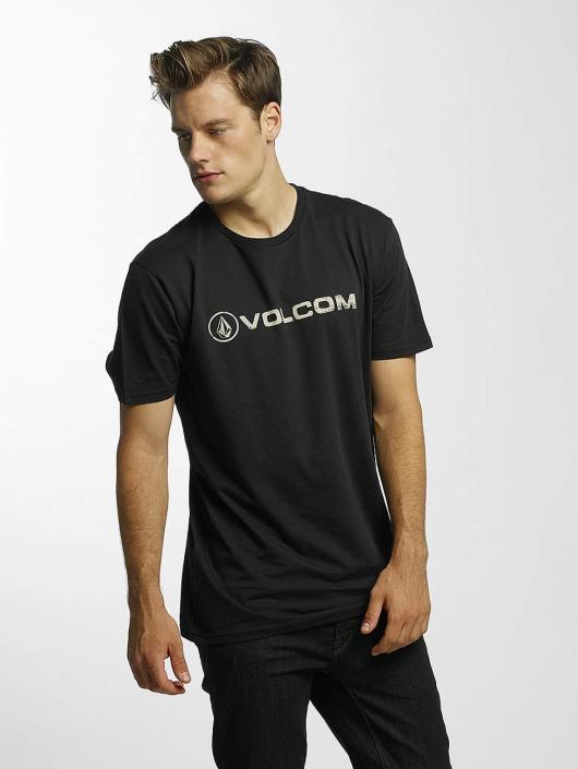Volcom T-Shirt Line Euro Basic black