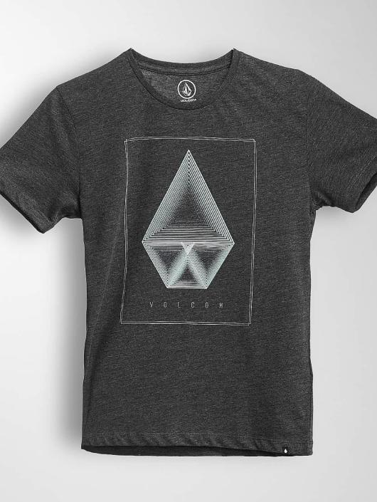 Volcom T-Shirt Concentric Hth black