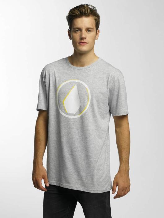 Volcom T-Shirt Burnt Basic grau