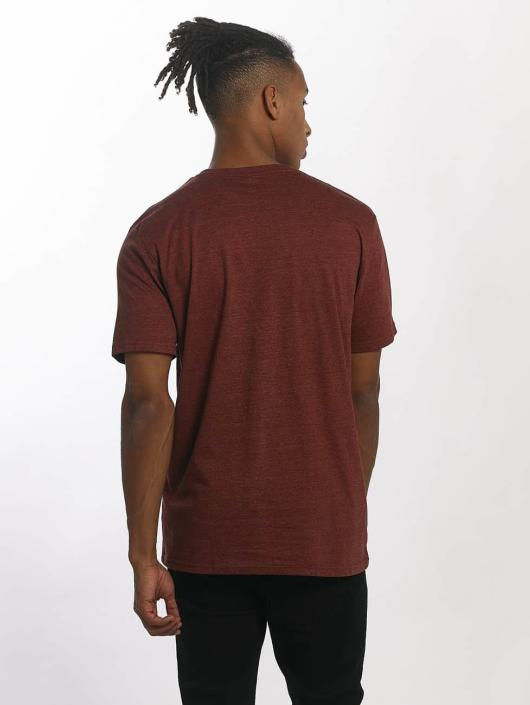Volcom T-Shirt Circle Stone red