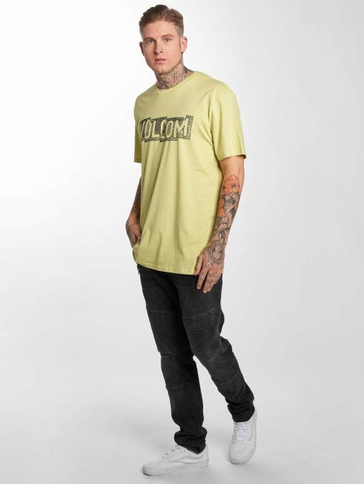 Volcom T-Shirt Edge Basic yellow