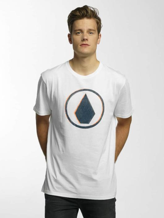 Volcom T-Shirty Burnt Basic bialy