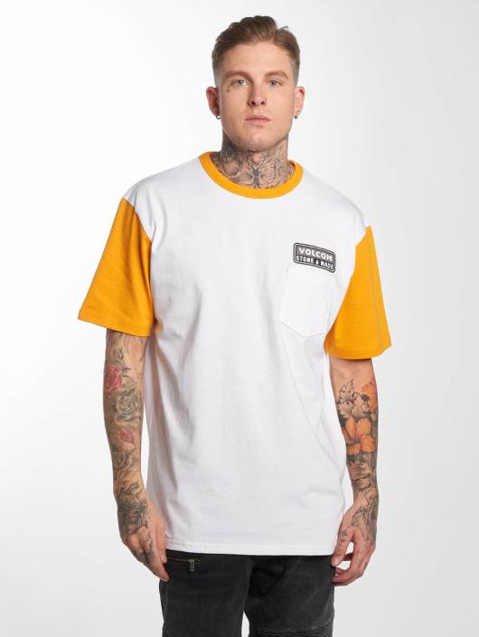 Volcom T-Shirty Angular Hw bialy