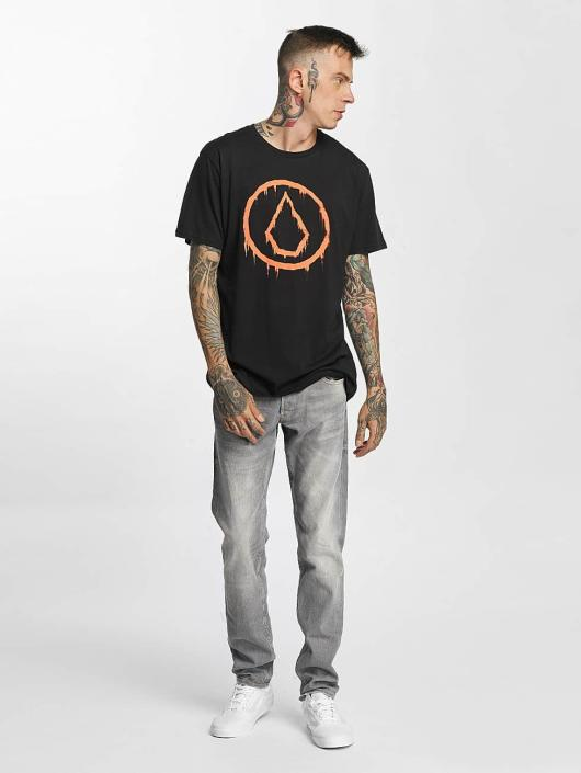 Volcom T-Shirty Sludgestone Basic czarny