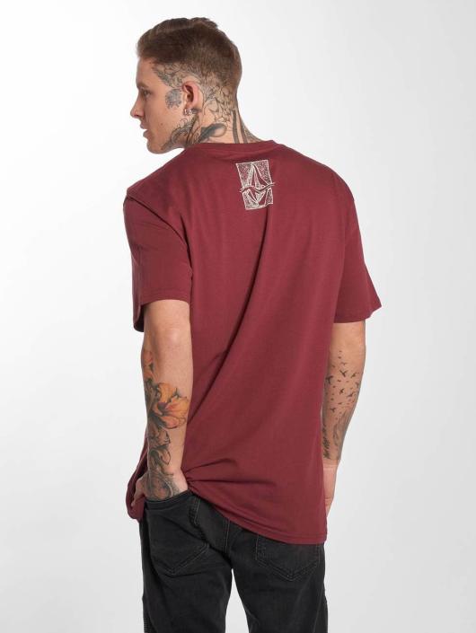 Volcom T-Shirty Edge Basic czerwony