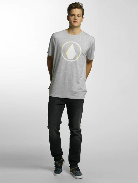 Volcom T-Shirty Burnt Basic szary