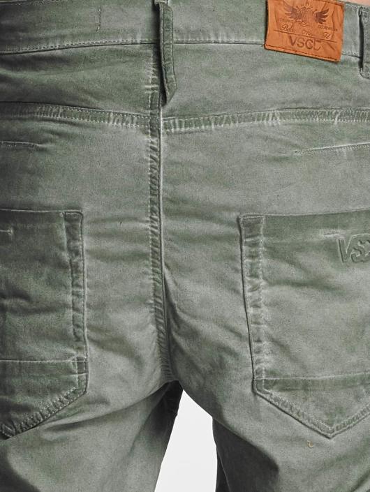 VSCT Clubwear Jeans   Antifit jeans Noah Biker i oliv 357328 9523466227