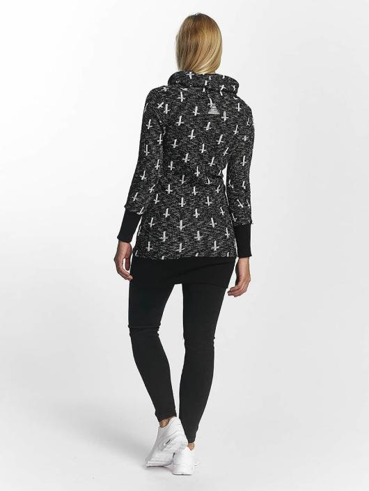 VSCT Clubwear Bluzy z kapturem Reverse Cross czarny