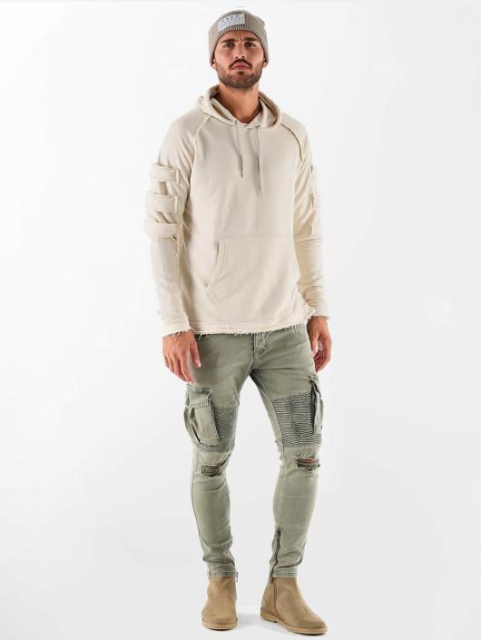 VSCT Clubwear Hoody Raw Edge Design beige