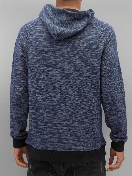 VSCT Clubwear Hoody Shiro 2 Zip Moulinee Kangool indigo