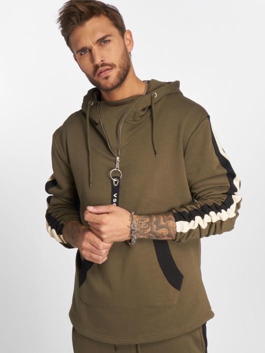 VSCT Clubwear Hoody Striped khaki