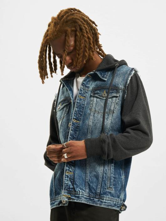 VSCT Clubwear Jean Jakker Hybrid Denim blå
