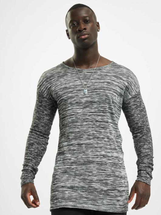 VSCT Clubwear Jumper 2 Colour Moulinee grey