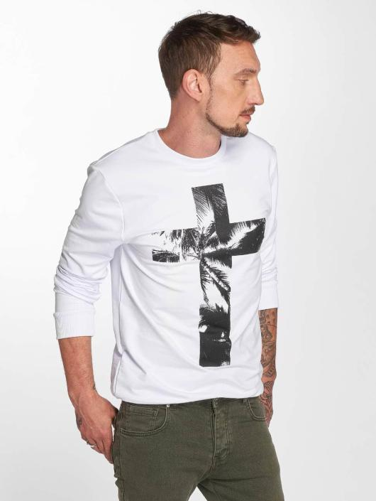 VSCT Clubwear Jumper Cross Palm Loose white