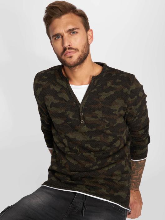 VSCT Clubwear Longsleeve Buttoned Double Optic camouflage