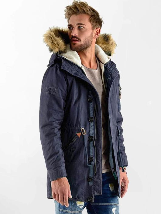 VSCT Clubwear Manteau hiver Luxury bleu