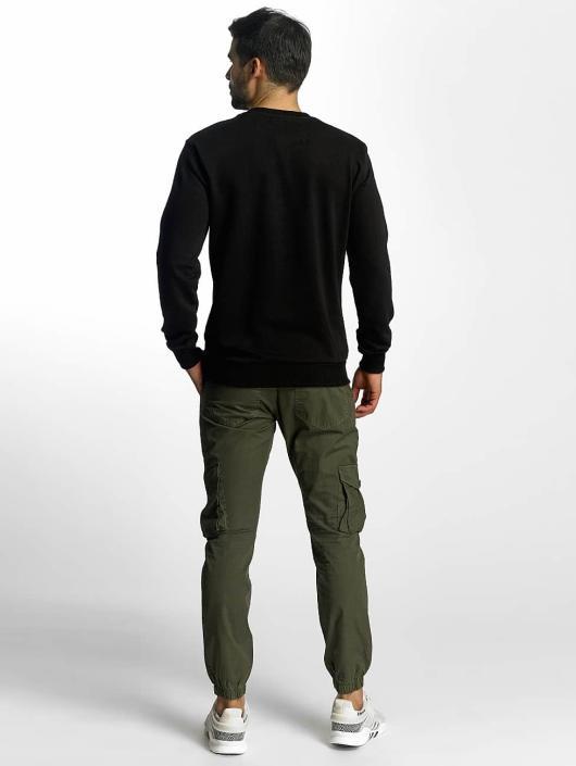 VSCT Clubwear Pullover Cross Palm Loose schwarz