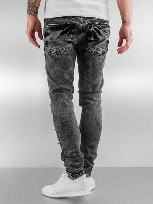 VSCT Clubwear Skinny Jeans Lazer Racer black