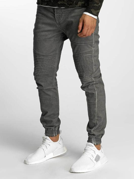 VSCT Clubwear Spodnie Chino/Cargo Noah Biker szary