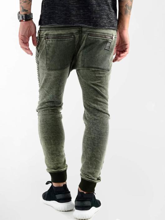 VSCT Clubwear Spodnie do joggingu Biker Jersey khaki