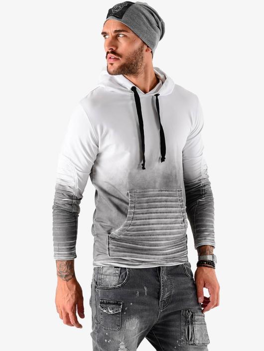 Homme Capuche Biker Sweat 401693 Vsct Gris Clubwear L53AR4j