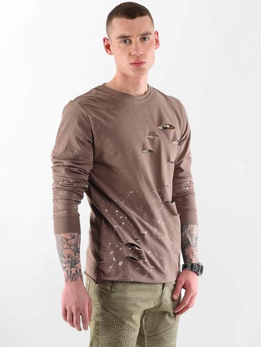 VSCT Clubwear Swetry Slashed brazowy