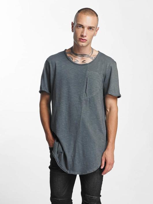 VSCT Clubwear t-shirt Flamed Pkt grijs