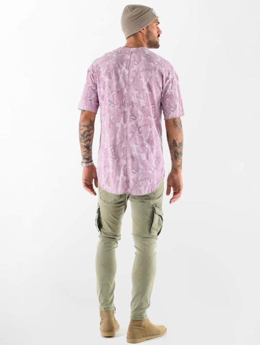 VSCT Clubwear T-Shirt Camo Washed red