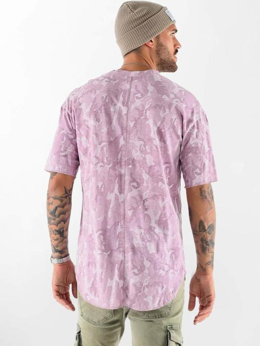 VSCT Clubwear t-shirt Camo Washed rood
