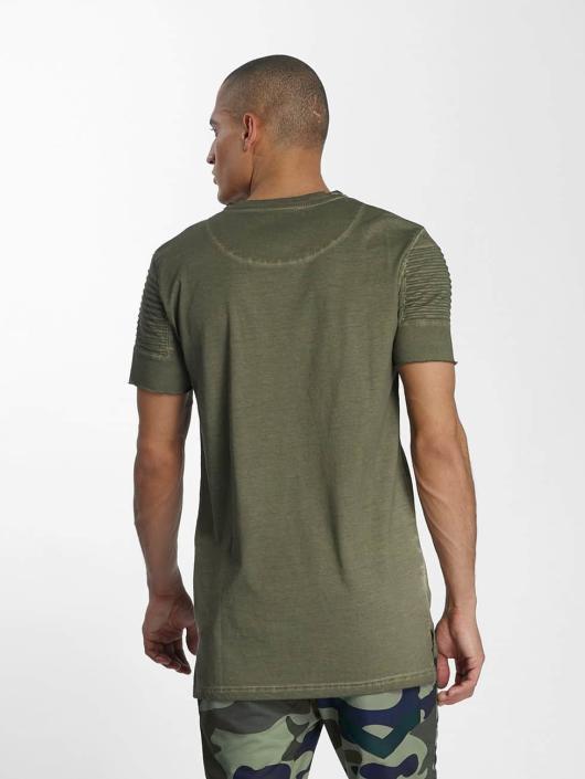 VSCT Clubwear T-Shirty Biker khaki