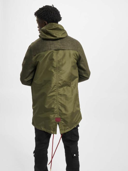 VSCT Clubwear Transitional Jackets Contrast Rain oliven