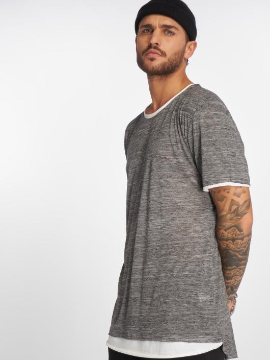 VSCT Clubwear Tričká 2 on 1 šedá