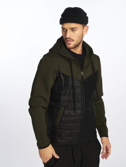 c0d0836d7f5a2 VSCT Clubwear   2 Colour Amour kaki Homme Veste mi-saison légère 451498