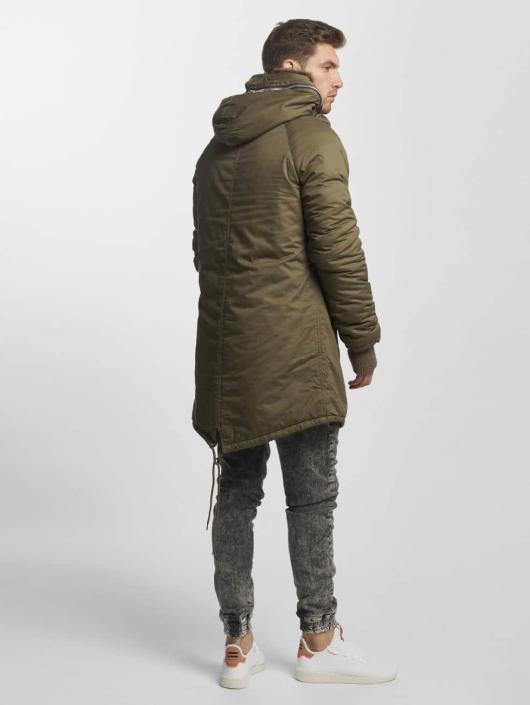 VSCT Clubwear Vinterjakke Double-Zipper khaki
