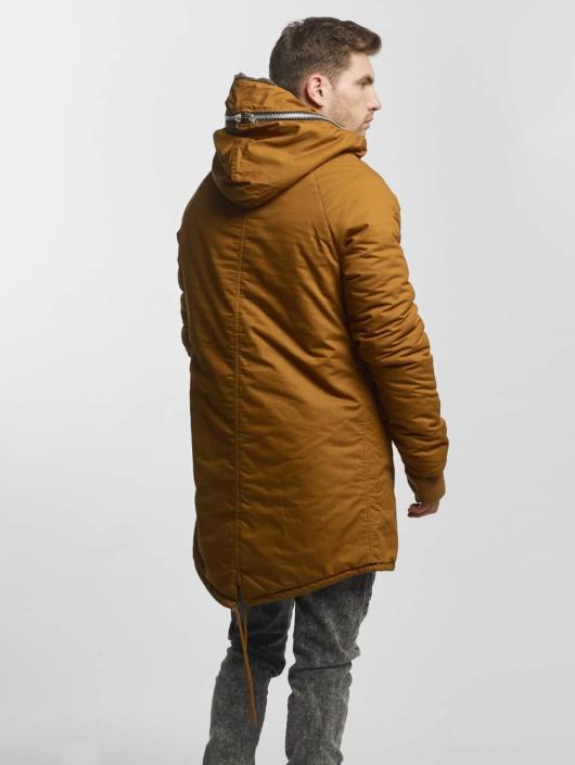 VSCT Clubwear winterjas Double-Zipper Huge Luxury bruin