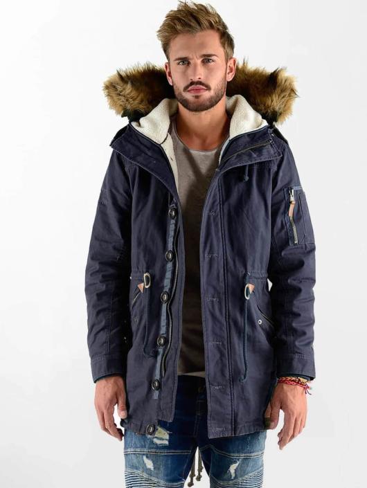 VSCT Clubwear Zimné bundy Luxury modrá