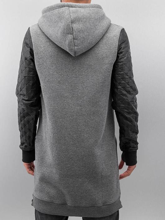 VSCT Clubwear Zip Hoodie Xtended šedá