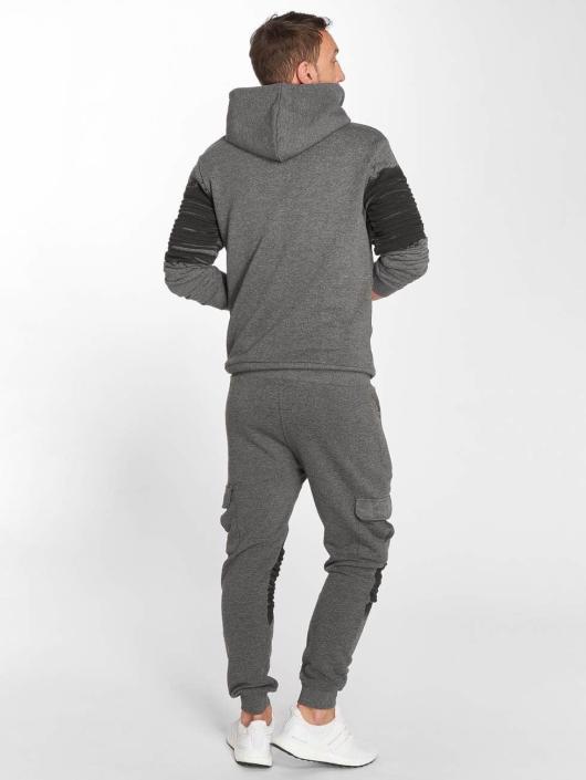 VSCT Clubwear Zip Hoodie Oiled šedá