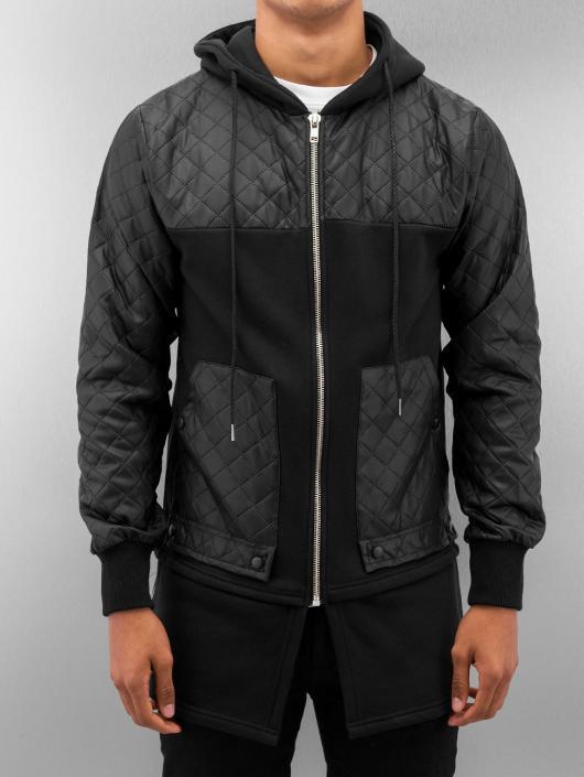 VSCT Clubwear Zip Hoodie Elite Long schwarz