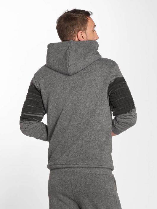 VSCT Clubwear Zip Hoodie Oiled szary