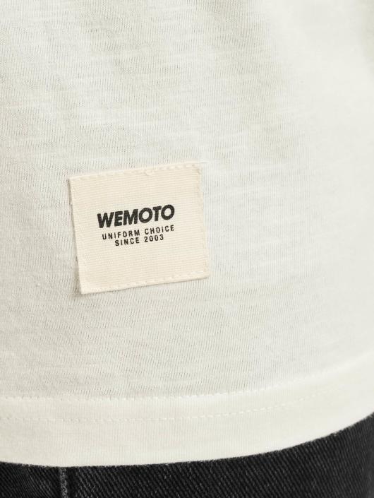 Wemoto T-Shirt Grain white