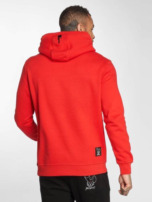 Who Shot Ya? Bluzy z kapturem WS Style czerwony