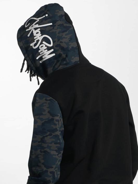 Who Shot Ya? Hoodie DarkCamou black