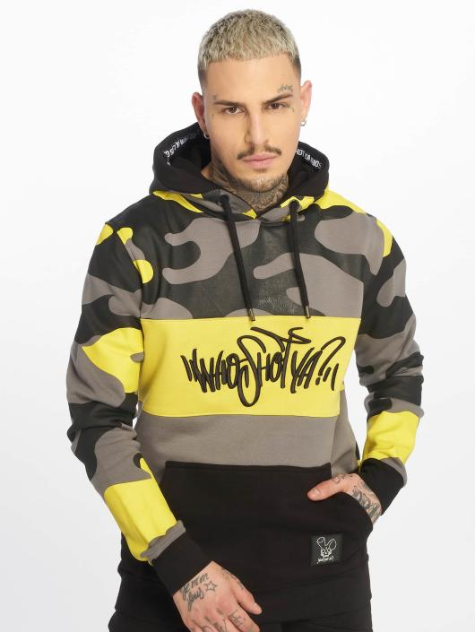 Who Shot Ya? Hoodie Devious WW yellow